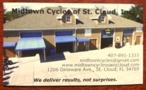 Mid Town Cycles of Saint Cloud Inc