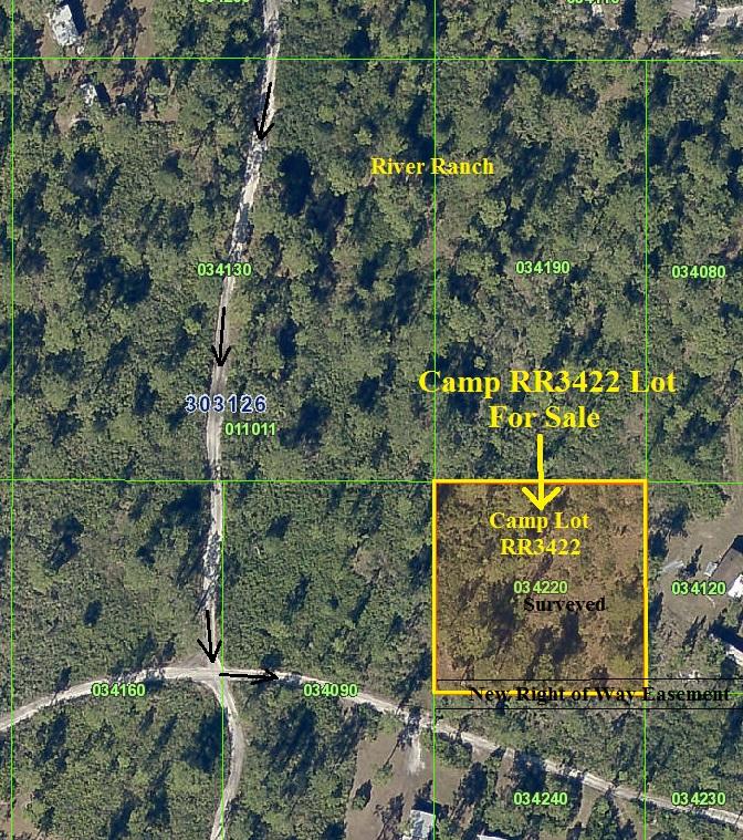 River Ranch RRPOA Surveyed Camp Lot RR atv hunt 4x4