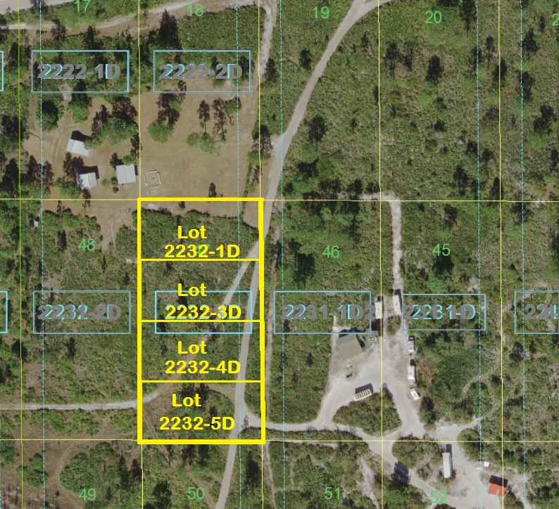 Suburban Estates Holopaw Florida Dry Camp Lots old5a Old 5a