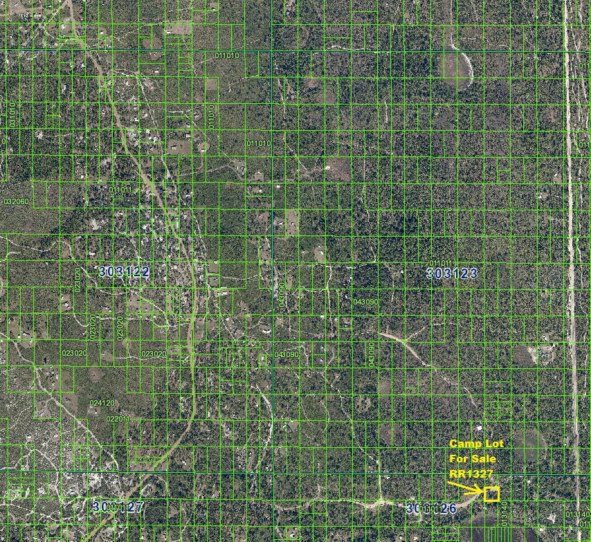 River Ranch Acres RRPOA Camp Lot For Sale
