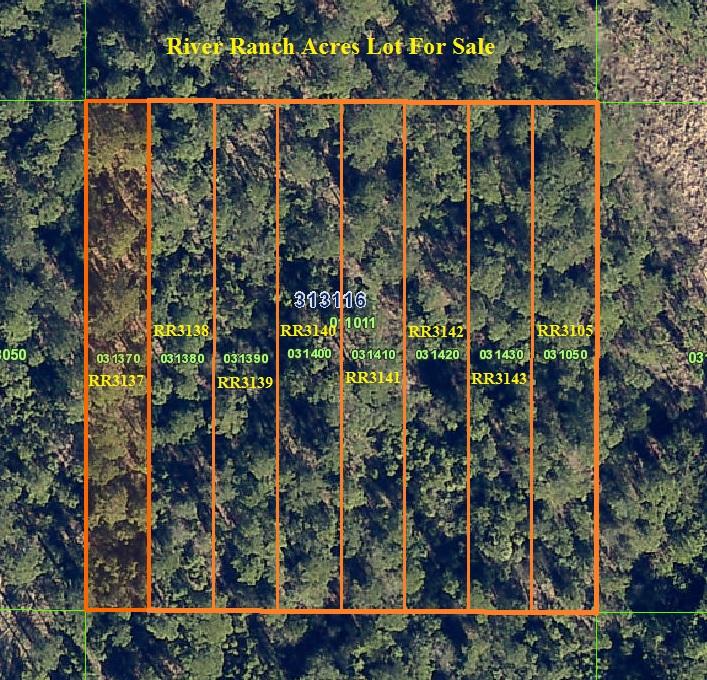 River Ranch Acres Lot For Sale RRPOA