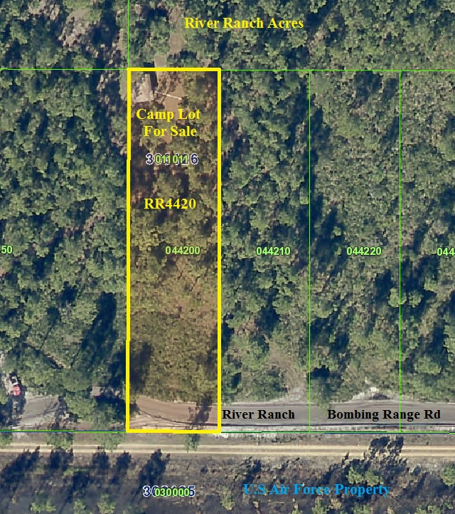 River Ranch Acres Camp lot for sale RRPOA