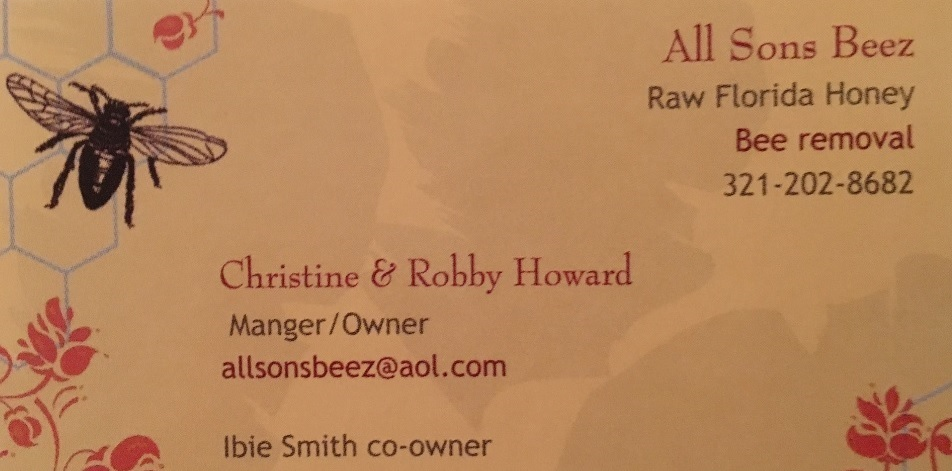 All Sons Beez Saint Cloud Florida Raw Honey