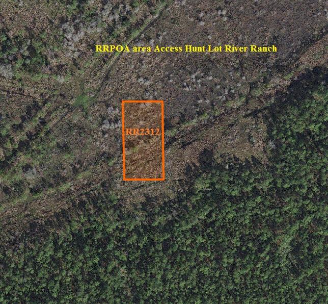 RRPOA access hunt lot River Ranch