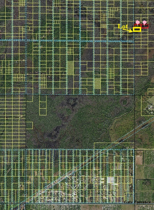Suburban Lots Suburban Estates Holopaw Florida access lots for sale